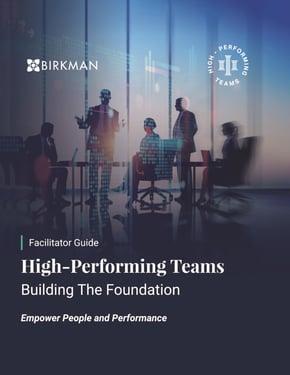 Birkman High Performing Teams