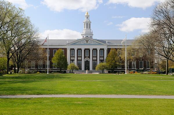 Harvard lawn
