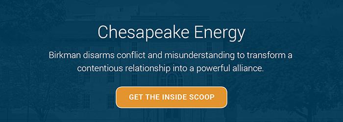 Chesapeake Energy Case Study